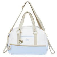 Cream Faux Leather Changing Bag
