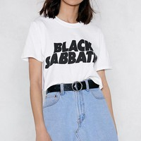 Black Sabbath Cropped Tee