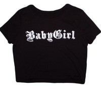 Babygirl Crop Top
