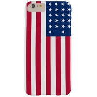 American Flag Patriotic Barely There iPhone 6 Plus Case