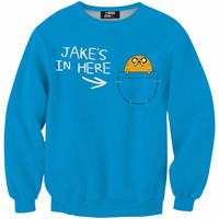 Jake's in here sweater