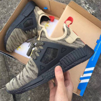 """""""Adidas"""" NMD XR1 Duck Camo Women Men Running Sport Casual Shoes Sneakers Camouflage Camel (black soles)"""
