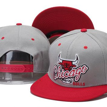 Perfect Chicago Bulls hats Women Men Embroidery Sports Sun Hat Baseball Cap Hat