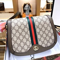 GUCCI Retro Simple Women's Shell Bag Shoulder Bag Crossbody Bag