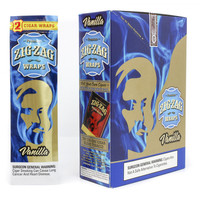 Zig Zag Wraps - Vanilla (Box of 50)