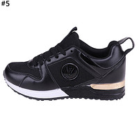 LV tide brand men and women models wild mesh breathable sneakers #5