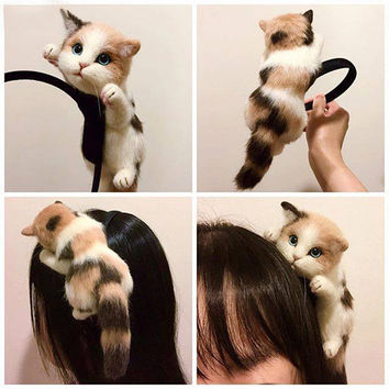 Kitty Cat Hair Band