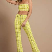 I.Am.Gia Polaris Plaid Pants