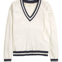 V-neck Sweater - from H&M