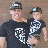 Better Together Mommy/ Daddy and Me Matching Tee Set