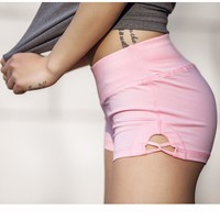 Hot sexy Sports Exercise Shorts Gym Running Female  Jogging Clothing for women Workout Yoga Sportswear Fitness Running Shorts