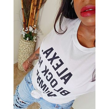 ALEXA - Unisex Fashion Tee