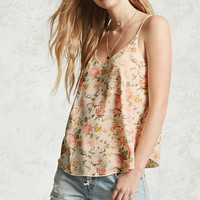 Floral V-Neck Cami - Women - New Arrivals - 2000322165 - Forever 21 Canada English