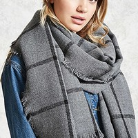 Checkered Oblong Scarf
