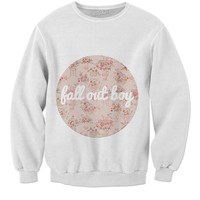Fall Out Boy Sweatshirt Floral