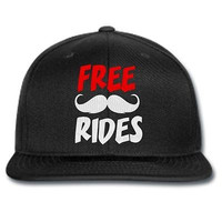 free rides snapback free rides beanie free rides musthache hat beanie cap knit
