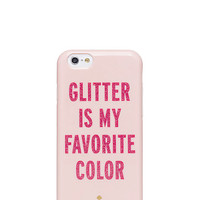 Kate Spade Glitter Is My Favorite Color Iphone 6 Case Pastry Pink/Red