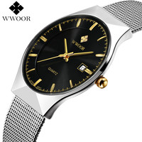 Men's Waterproof Steel Watch