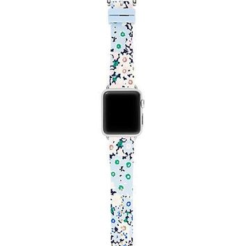floral silicone apple watch® strap