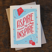 Aspire To Inspire Cards by Matt Braun | HOLSTEE