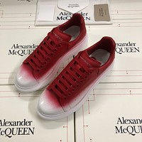 Alexander McQUEEN  Women's Men's 2020 New Fashion Casual Shoes Sneaker Sport Running Shoes
