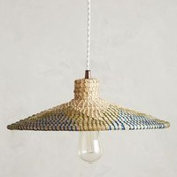 Loa Rattan Pendant by Anthropologie