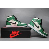 Air Jordan 1 Retro OG HG - White/Green