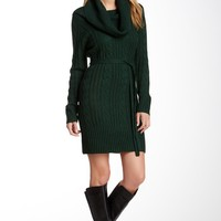 Jessica Simpson | Jessica Simpson Cowl Neck Cable Knit Sweater Dress | Nordstrom Rack
