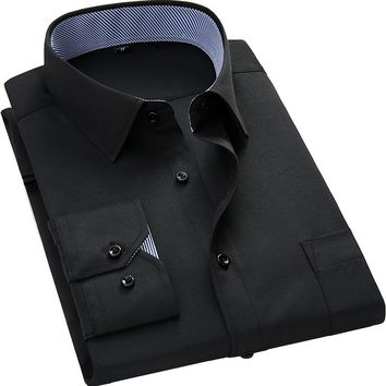 Casual Long Sleeve Dress Shirt