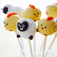 Sweet Lauren Cakes Easter Cake Pops