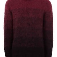 Burgundy Mohair Sweater - New Arrivals - New In