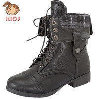 Smart Trooper Boot by Lucky Top {Black}