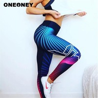 Women Yoga Pants Tight Running Leggings 3d Printing Sports Pants Trousers Fitness Yoga Pant Gym Workout Gym Leggings Sportswear