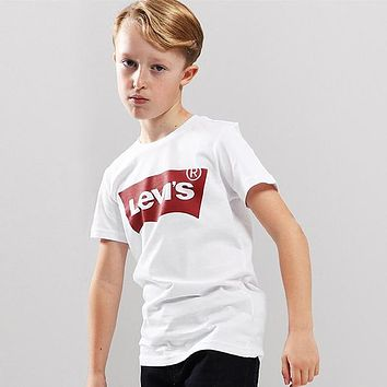 Levi's Children Girls Boys Casual Shirt Top Tee