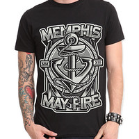 Memphis May Fire Anchor Slim-Fit T-Shirt | Hot Topic