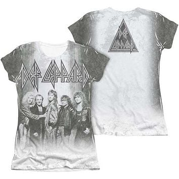 THE BAND JUNIORS CAP-SLEEVE DYE SUBLIMATION TEE