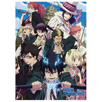 """Blue Exorcist: """"Wall Scroll - Rue Cross Academy (GE9974)"""" : TokyoToys.com: UK Based e-store, Anime Toys Retail & Wholesale, Manga Action Figures,  Hentai Statues, Japanese Snacks, Pocky, DVDs, Gashapon,  Cosplay, Monkey Shirt, Final Fantasy, Bleach, Naruto"""
