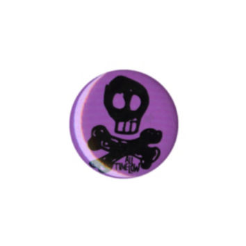 All Time Low Skull Pin