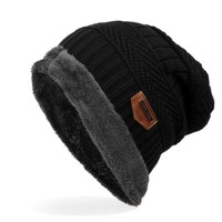 2017 Newest Men's Knitted Hats Male Winter Thick Beanies For Cold Day Skullies Classic Design Caps 6 Colors