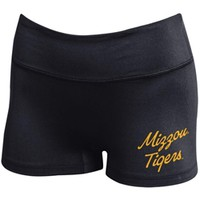 Mizzou Tigers Under Armour Juniors' Black Athletic Shorts