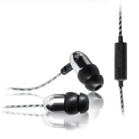 MEElectronics M9P-SL Hi-Fi Sound-Isolating In-Ear Headphones with Microphone (Silver) (Discontinued by Manufacturer)