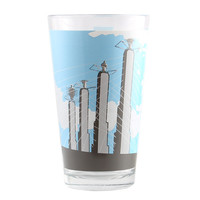 Kansas City Pylons Pint Glass