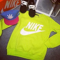 "Fashion ""Nike"" Print  Pullover Tops Sweater Sweatshirts"