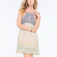 Anna Sui For O'neill Love Birds Dress Multi  In Sizes