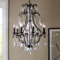 Ruby Crystal Chandelier
