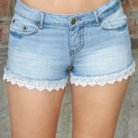 Free Spirit Denim Shorts