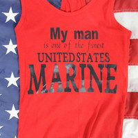 Sale! My man is one of the finest united states marine corps