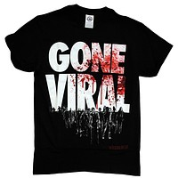 The Walking Dead Gone Viral Zombie Attack Men T-shirt