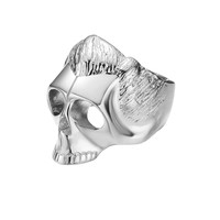 *Mister  Dead Serious Ring - Chrome