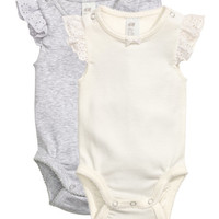 2-pack Bodysuits - from H&M